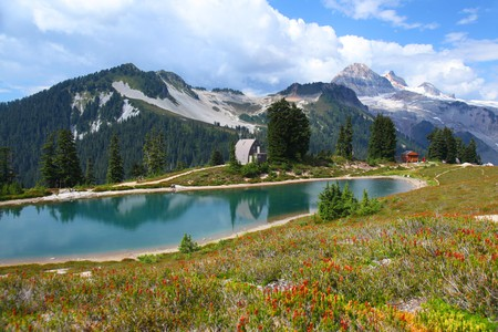 Garibaldi Provincial Park offers several hikes with great views