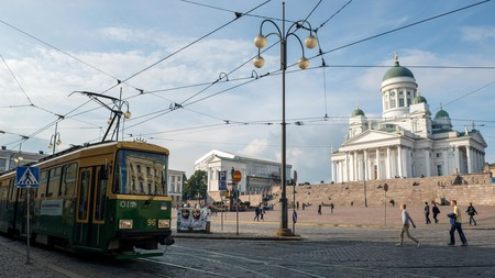Explore Helsinki Cathedral and the bustling Finnish capital on a stylish city break