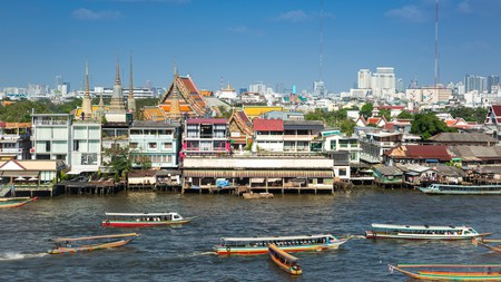 Bangkok is a complex city with a mix of old and new influences
