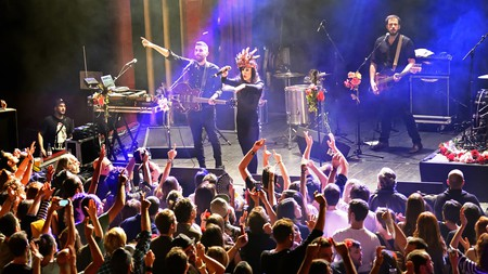 A live performance at Sala Apolo, one of Barcelona's top nightlife venues