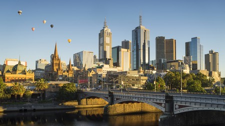 Much of Melbourne was built during the Victorian gold rush in the 1850s