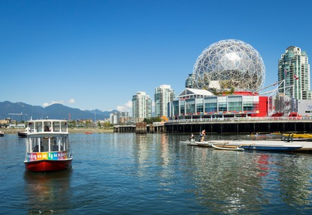 Aquabus and Science World at Telus World of Science