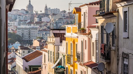 Lisbon has a vibrant hostel scene – good news for those travelling on a budget