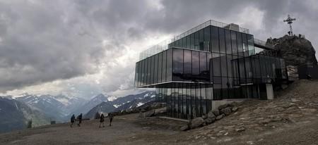 Austria's highest gourmet restaurant, ice Q, featured in the 007 adventure 'Spectre'