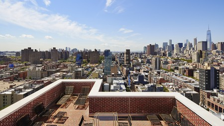 The Ludlow's rooftop terrace in New York
