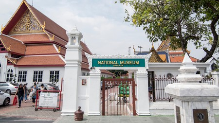 The Bangkok National Museum houses a rare collection of early Buddhist artworks that can only be seen in Thailand