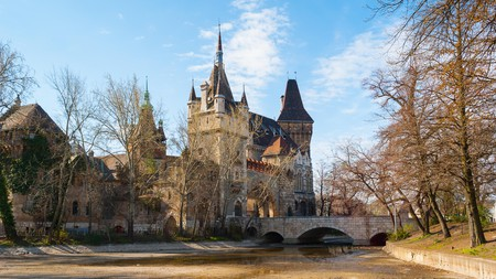 Budapest's Agricultural Museum is set within the Vajdahunyad Castle complex, modelled after a Transylvanian fortress