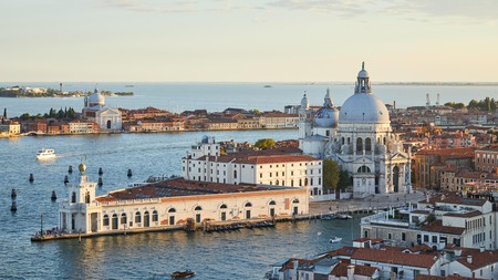 The Punta della Dogana houses the Pinault Collection