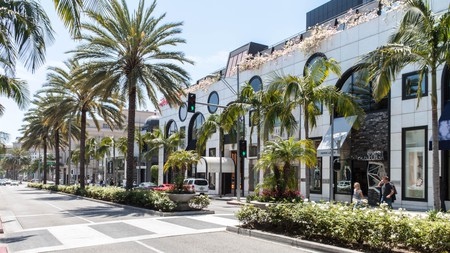 Rodeo Drive in Beverly Hills is brimming with top-notch dining and shopping