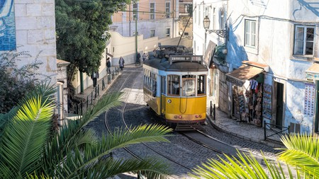 Trams are one of Lisbon's most distinctive attractions