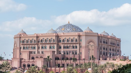 The Emirates Palace is a must-see when visiting Abu Dhabi