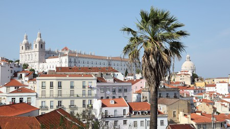 One defining feature of Alfama is its maze of winding streets