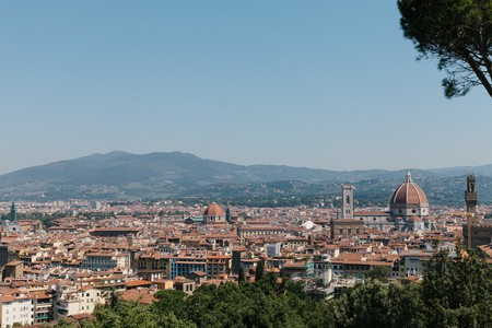 The iconic Duomo rises above the city of Florence