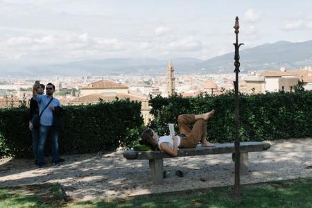 Relax and enjoy the view at the Boboli Gardens in Borgo Santo Spirito