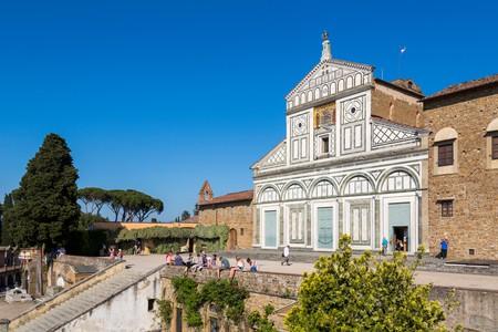 Take a peek behind the walls of San Miniato al Monte in Florence