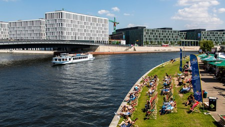 Visitors to Berlin can enjoy cruises along the River Spree