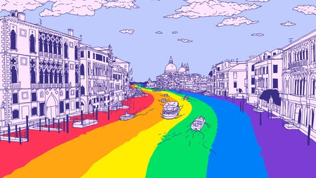 Venice's queer history is a complicated but colourful one