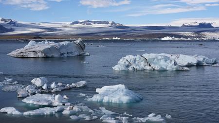 J3W1CN Jokulsarlon or the Iceberg Lagoon at the southern tip of Vatnajokull National Park in South Iceland