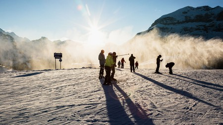The Dolomites are an ideal destination for a winter ski trip
