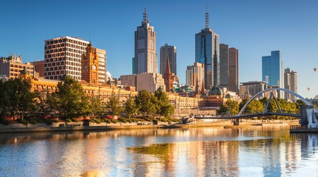 Melbourne's Central Business District is bordered by Flinders, Spencer, Victoria and Spring Street in the heart of the city