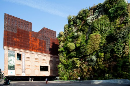 The CaixaForum is a museum and cultural centre