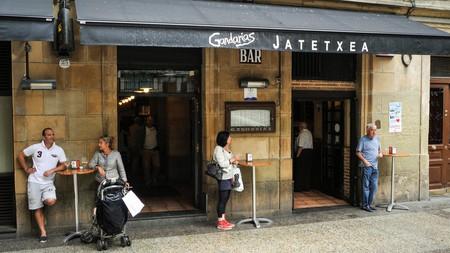 Gandarias, tapas bar in San Sebastian