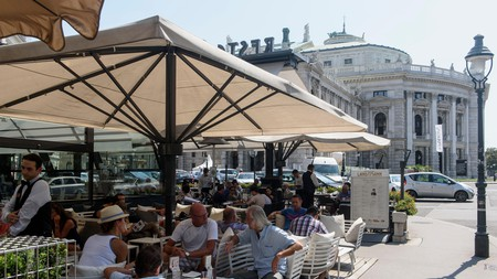Coffee house culture is important in Vienna
