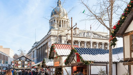 Nottingham's Christmas market adds festive cheer to the city centre
