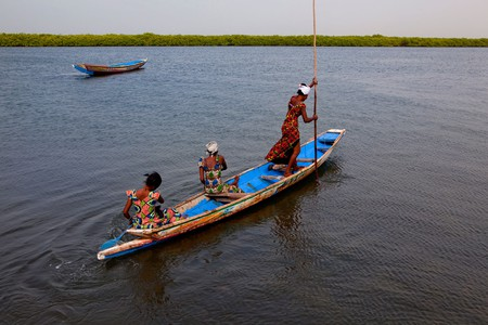 Formed by three rivers merging into the Atlantic, the Sine-Saloum Delta has more than 200 islands and islets