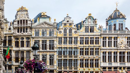 Brussels's Grand Place is a central square surrounded by opulent architecture