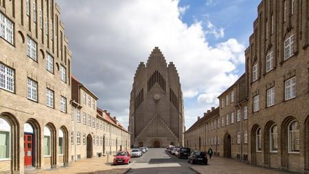 Grundtvigs Church is in the Bispebjerg area of Copenhagen