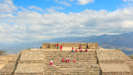 Monte Alban, near Oaxaca City, Oaxaca, Mexico