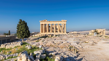 Many Airbnbs in Athens have panoramic views, including of the Parthenon