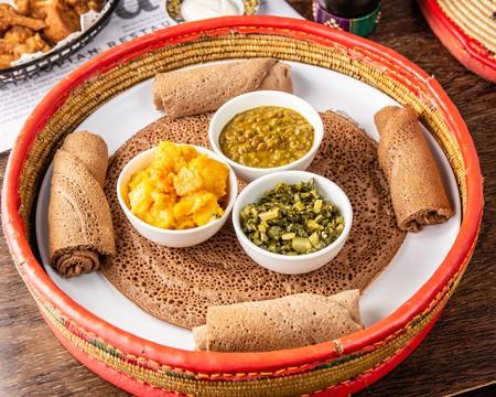 Enjoy a shared platter at Saba's