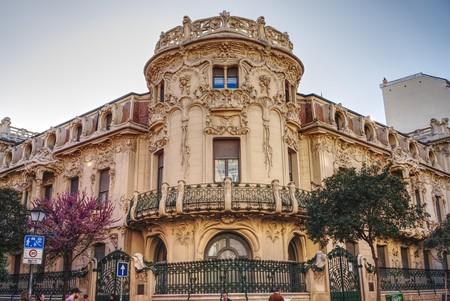 The Palacio de Longoria was originally the home of financier Javier González Longoria