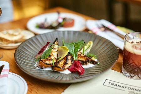 Transformer's focus is on innovative plant-based dining