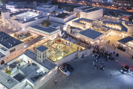 Sharjah Art Foundation's Al Mureijah Square location offers art exhibitions, cinema screenings and great food