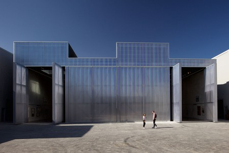 OMA's eye-catching Concrete building hosts prestigious exhibitions and events