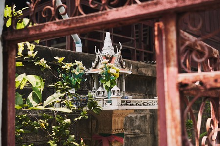 A san phra phrom is a house for the gods