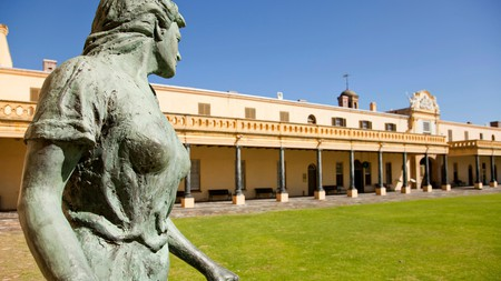 The Castle of Good Hope exhibits a collection of military artefacts, colonial furniture and artwork from the 17th and 18th centuries