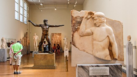 The National Archaeological Museum holds the largest collection of Greek antiquities in the world