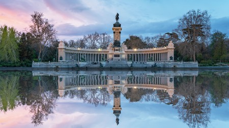 Retiro Park in Madrid is among the city's many delights