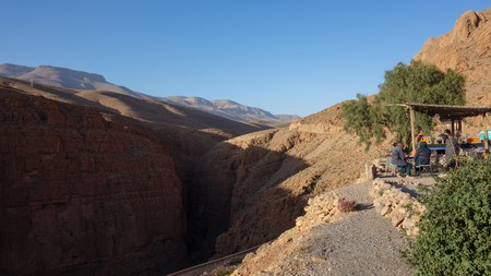 The Atlas Mountains are a short trip away from Marrakech