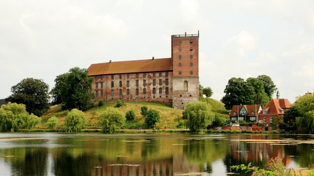 Kolding, Denmark, is well worth a visit, as you can see from this 13th-century castle on the shores of an even older lake