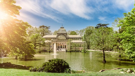 Walk through Retiro Park on your trip to Madrid