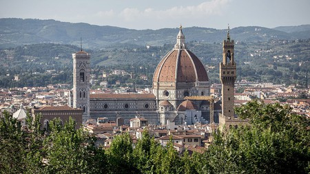 The Duomo and Giotto's Campanile tower over Florence's skyline