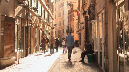 You'll discover artisanal shops full of unique souvenirs in these back streets of Rome