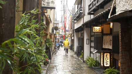 Hozenji Yokocho Alley is home to some terrific restaurants and bars