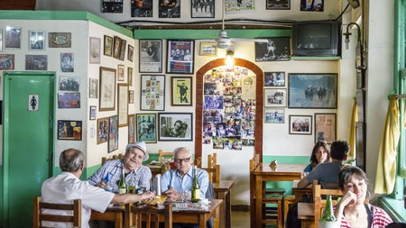 The interior of a Bar in Buenos Aires