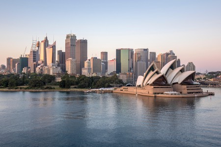The New South Wales capital is home to striking buildings, such as the Sydney Opera House